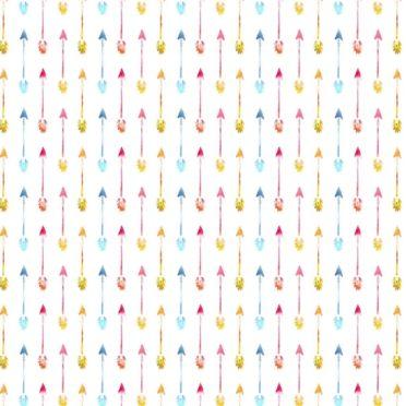 模様矢印カラフル女子向けの iPhone6s / iPhone6 壁紙