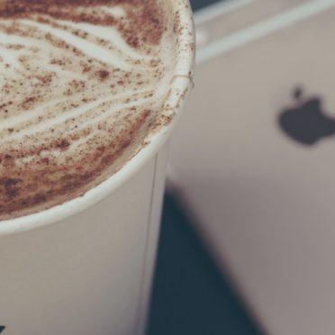 コーヒーフード女子向けiPhoneの iPhone6s / iPhone6 壁紙