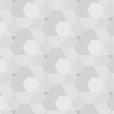 幾何学模様灰の iPhone6s / iPhone6 壁紙