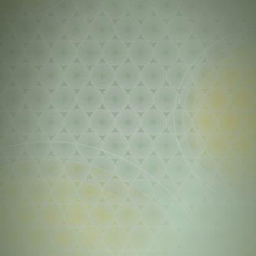 ドット模様グラデーション丸黄の iPhone6s / iPhone6 壁紙