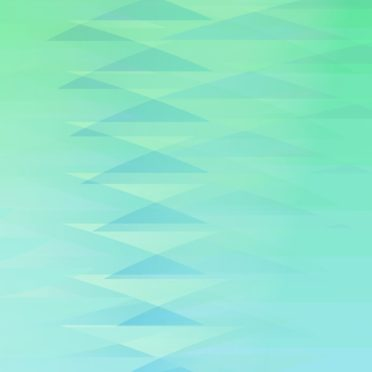 グラデーション模様三角青緑の iPhone6s / iPhone6 壁紙