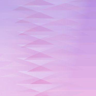 グラデーション模様三角紫の iPhone6s / iPhone6 壁紙