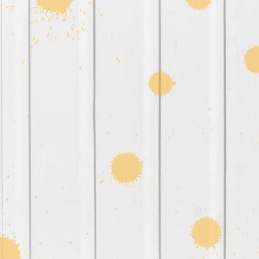 木目水滴白黄の iPhone6s / iPhone6 壁紙