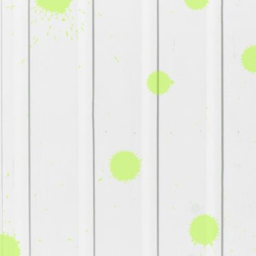 木目水滴白黄緑の iPhone6s / iPhone6 壁紙