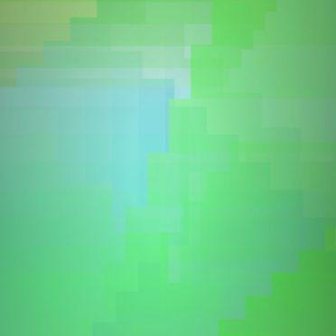 グラデーション模様黄緑の iPhone6s / iPhone6 壁紙