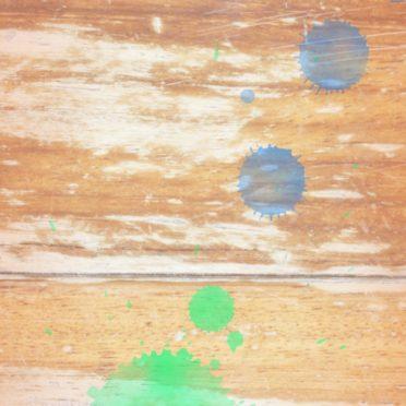 木目水滴茶青の iPhone6s / iPhone6 壁紙