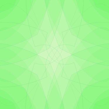 グラデーション模様緑の iPhone6s / iPhone6 壁紙