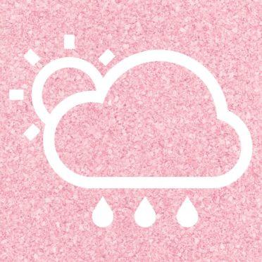 太陽晴曇雨赤の iPhone6s / iPhone6 壁紙