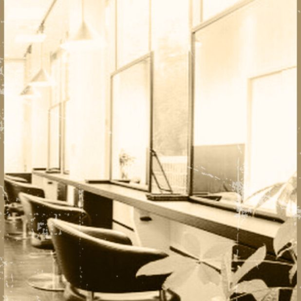 美容室 モノクロの iPhone6s Plus / iPhone6 Plus 壁紙