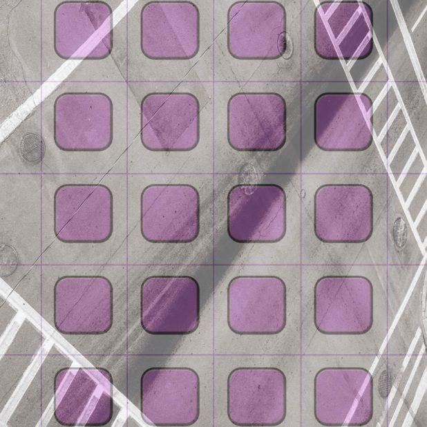 棚クール紫道路の iPhone6s Plus / iPhone6 Plus 壁紙