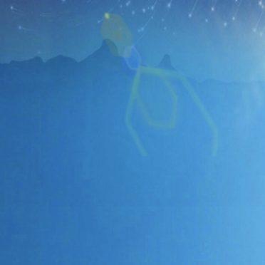 夜空 星の iPhone7 壁紙