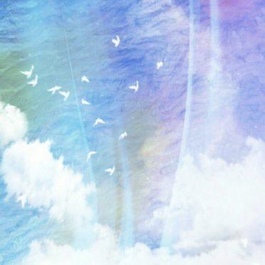 空 太陽の iPhone7 壁紙
