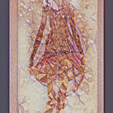 シルエット 女性の iPhone7 壁紙