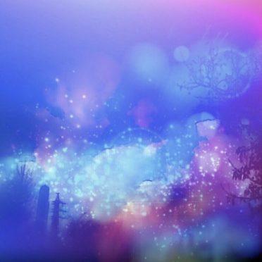 夜景 幻想的の iPhone7 壁紙