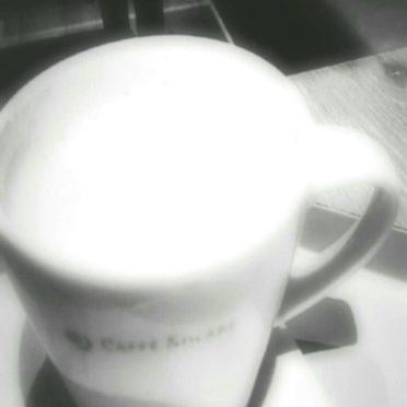 カプチーノ カフェの iPhone7 壁紙
