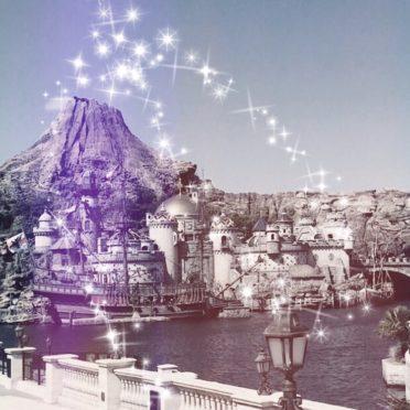 ディズニーシー 景色の iPhone7 壁紙