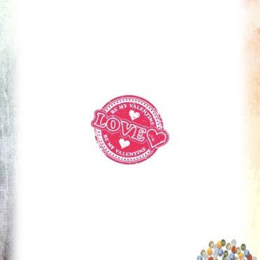 ハート ラブの iPhone7 壁紙