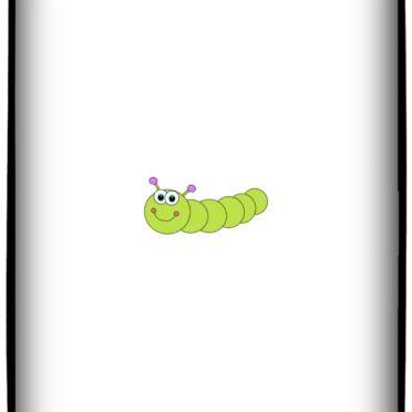 いもむし イラストの iPhone7 壁紙