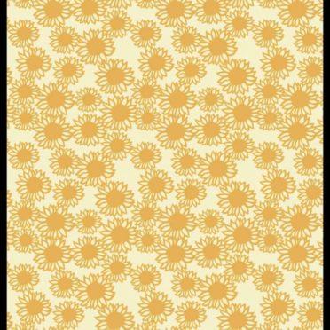ひまわり 黄色の iPhone7 壁紙