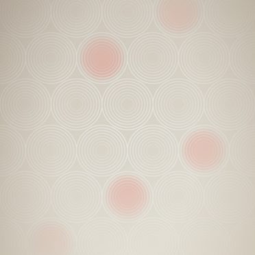 模様グラデーション丸赤の iPhone7 壁紙