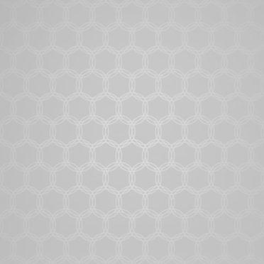 グラデーション模様丸灰の iPhone7 壁紙