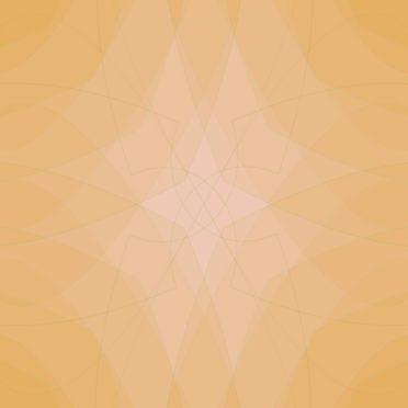 グラデーション模様橙の iPhone7 壁紙