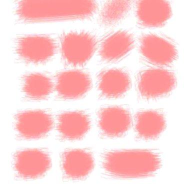 棚桃白模様の iPhone7 壁紙