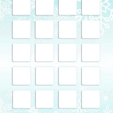 棚緑冬雪可愛い女子向けの iPhone7 壁紙
