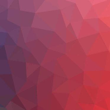 模様赤桃紫クールの iPhone7 壁紙