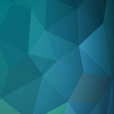 模様青緑クールの iPhone7 壁紙