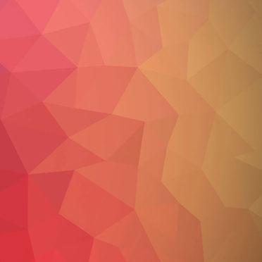 模様赤桃橙クールの iPhone7 壁紙