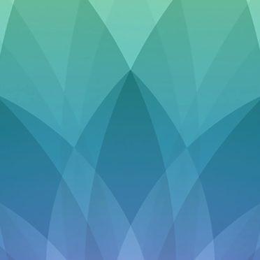 模様Appleイベント緑青紫の iPhone7 壁紙