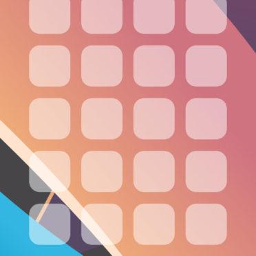 模様赤紫青棚の iPhone7 壁紙