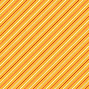 模様ストライプ赤橙の iPhone7 壁紙