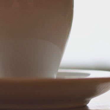 インテリアコーヒーカップの iPhone7 壁紙