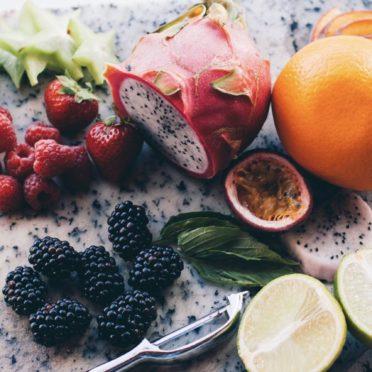 果物フードカラフルの iPhone7 壁紙