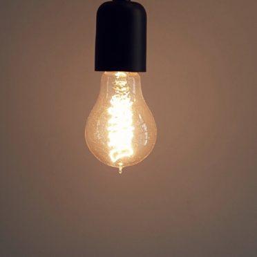 クール電球の iPhone7 壁紙