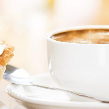 食器コーヒーの iPhone7 壁紙