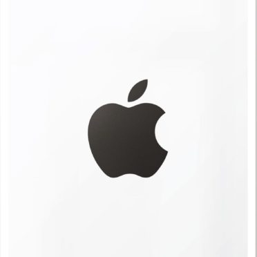Appleロゴ白黒クールポスター