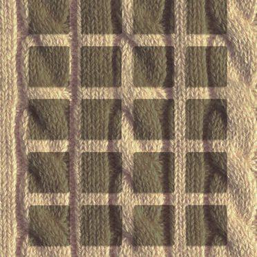 棚セーター茶の iPhone8 壁紙