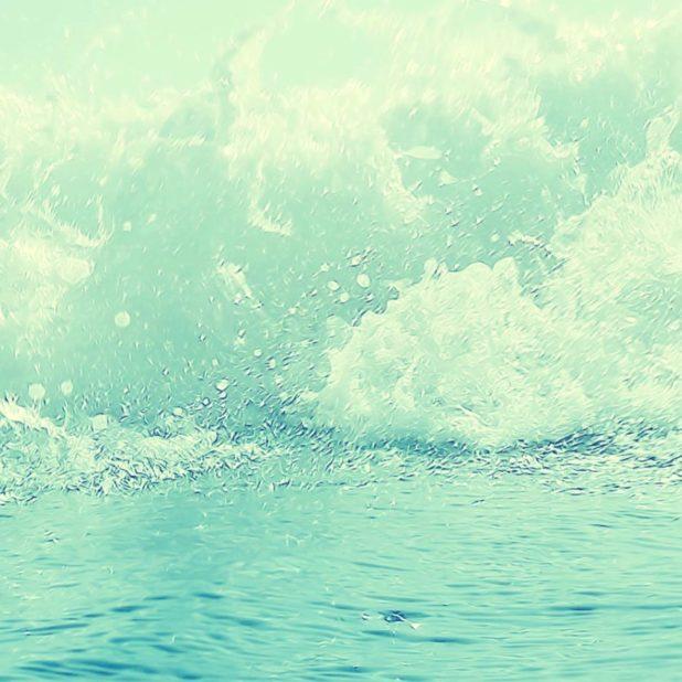 風景海の iPhoneXSMax 壁紙